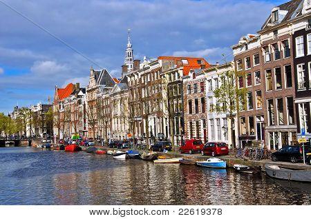 Visão clássica de Amesterdão