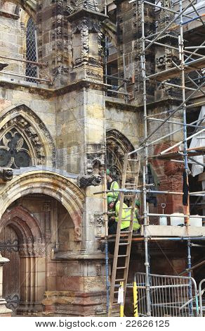 Renovating Rosslyn Chapel