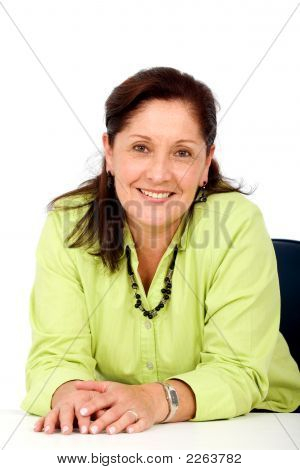 Senior Business Woman Portrait