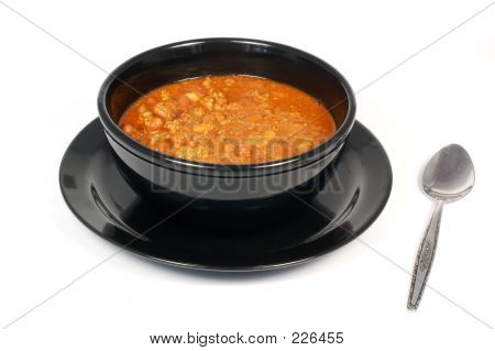 Chili And Bowl
