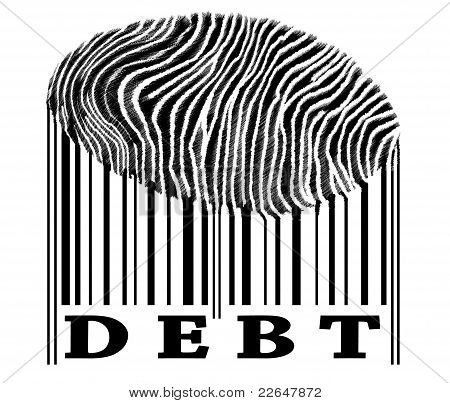 Debt On Barcode