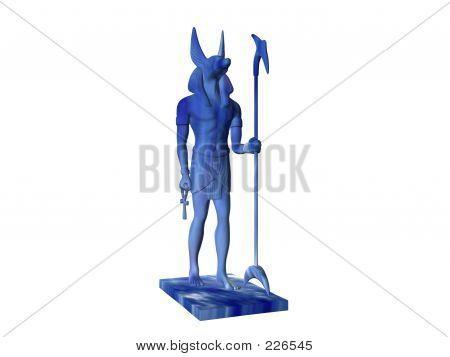 Anubis Blue Marble