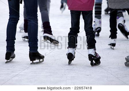 Patinação no gelo