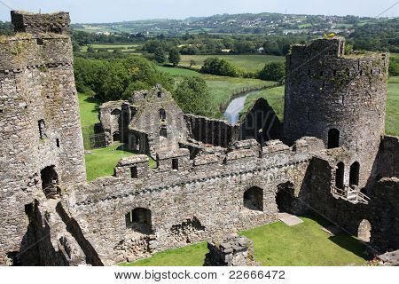 A Welsh Castle At Kidwelly