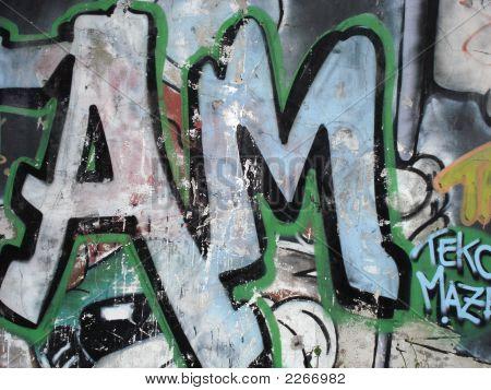 Awesome Grafitti Close Up