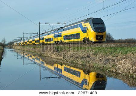Trainieren auf dem Kanal