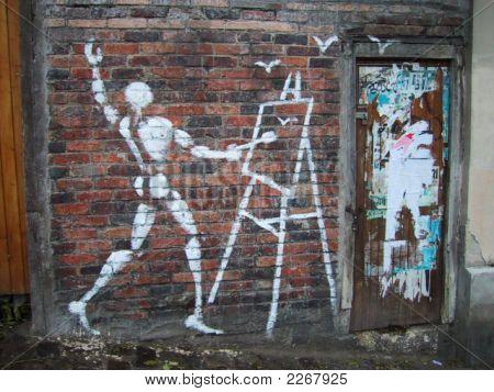 Montmarte Graffiti France