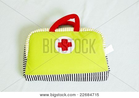 Red Cross Toy Bag