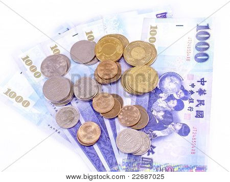 New Taiwan Dollars Currency