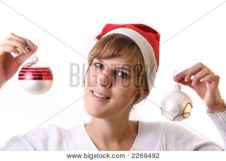 Joyful Mrs. Santa