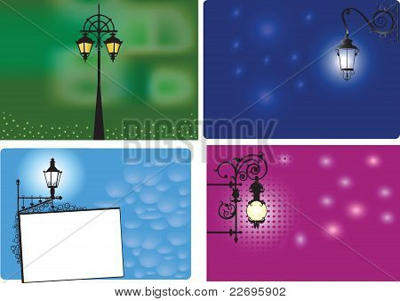 Backgrounds With Lanterns