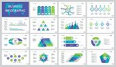 Infographic Design Set Can Be Used For Workflow Layout, Presentation, Annual Report. Marketing And B poster