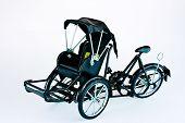pic of rickshaw  - Becak - JPG