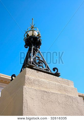 Historic Iron Streetlight