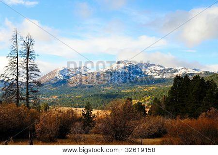 Fall Season In The Sierras