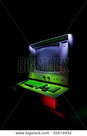 Vintage Stylized Computer
