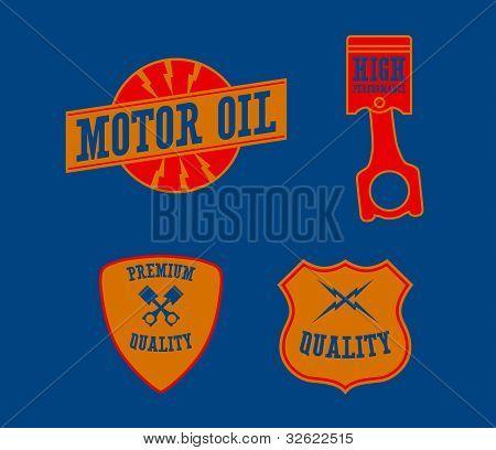Vintage Automotive Emblems