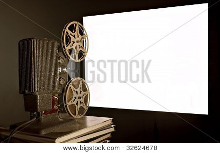 Vintage Movie Film Projector