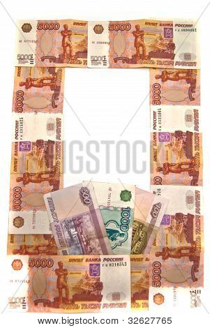 Russian Rubles Banknotes