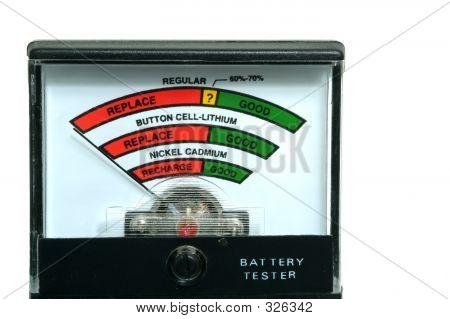 Probador de batería