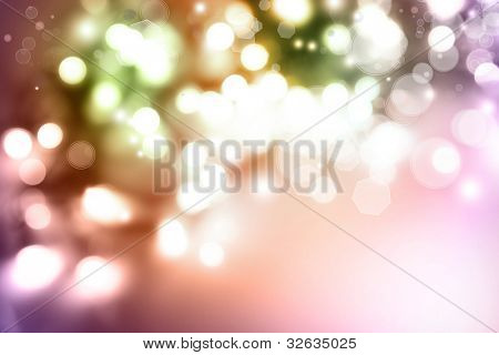 Bright lights abstract background