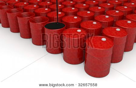 Power, energy and fuel industry image: oil barrel