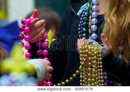 Grânulos de Mardi Gras