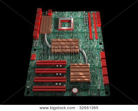 computer, hardware, motherboard, mainboard