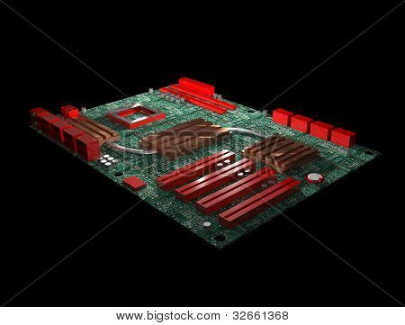 Computer mainboard, pc motherboard