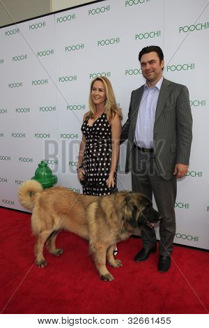 LOS ANGELES, CA - MAY 3: Erin Murphy, Darren Dunckel at the opening of the Pooch Hotel on May 3, 2012 in Hollywood, Los Angeles, CA. The Pooch Hotel is a luxury hotel and daycare exclusively for dogs.