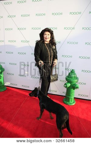 LOS ANGELES, CA - MAY 3: Barbara Van Orden at the grand opening of the Pooch Hotel on May 3, 2012 in Hollywood, Los Angeles, California.