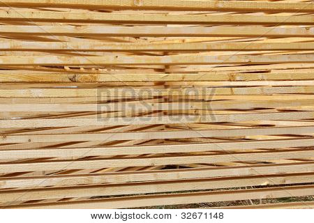 Planks Abstract