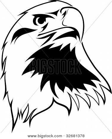 imagen estilizada de un águila
