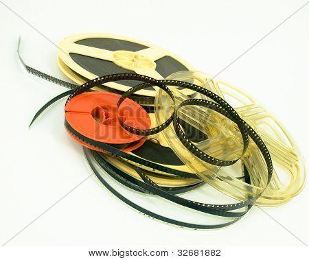 still life of 8mm cine film
