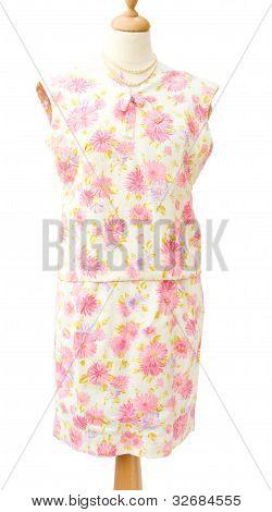 Vintage 1950 Flowery women suit