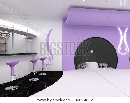 Design Coffee Restaurant Indoor With Modern Furniture