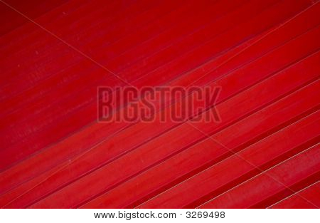 Red Stairs Abstract