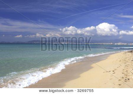 Beach In Mallorca Spain