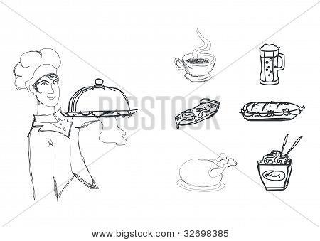 cooking doodles set