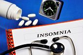 Insomnia Is A Sleep Disorder.insufficient Length And Quality Of Sleep For A Significant Period Of Ti poster