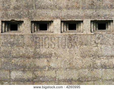 Concrete Bunker Detail