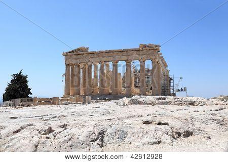 Landscape Of Parthenon