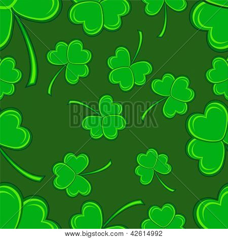 Seamless background for Happy St. Patrick's Day.