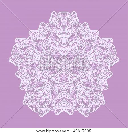 White Lace Napkin