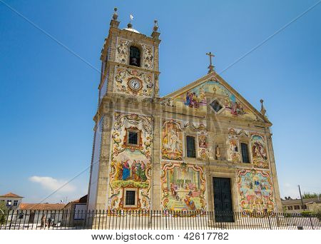 Portuguese Church Matriz De V�lega
