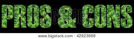 Marijuana Pros and Cons