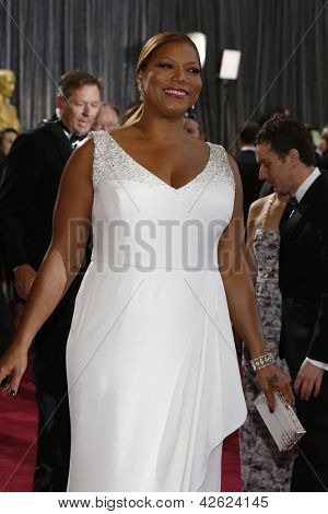 LOS ANGELES, CA - FEB 24: Queen Latifah at the 85th Annual Academy Awards on February 24, 2013 in Los Angeles, California