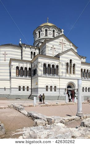 Chersonesus And The Vladimirskiy Cathedral