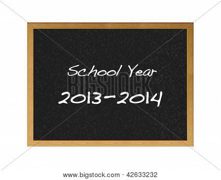 Calendário escolar 2013.