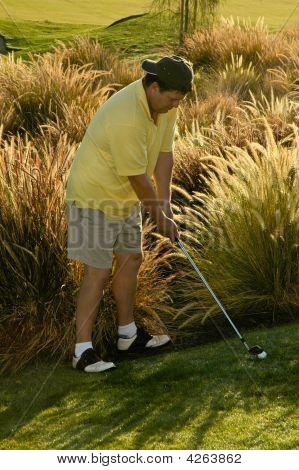 Difficult Golf Shot